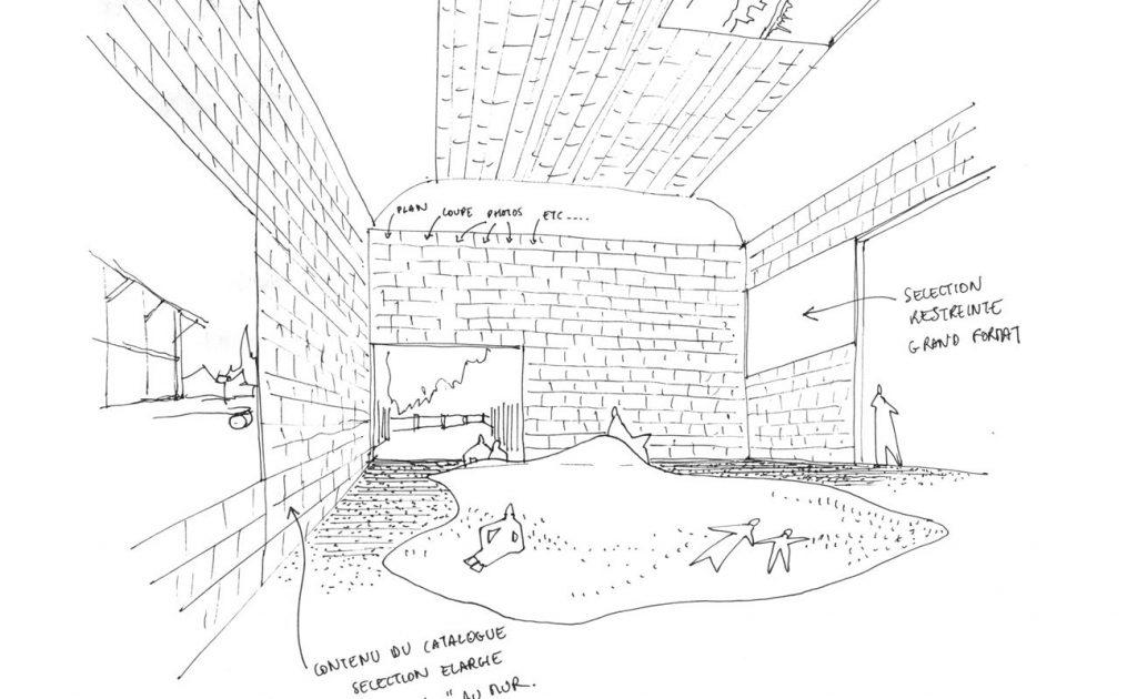 Croquis de la salle Le Terreau Obras Frederic Bonnet Ajap14 1024x630 - Prologue : Voir la France à Venise