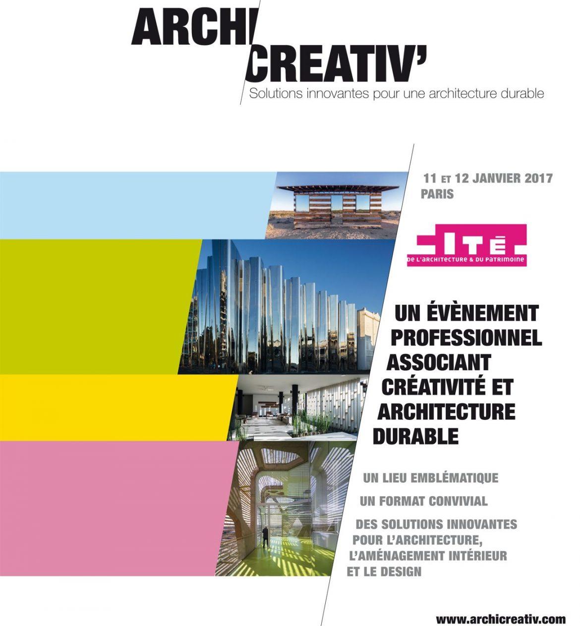 Archicreativ 1170x1263 - Archicreativ' : solutions innovantes pour une architecture durable