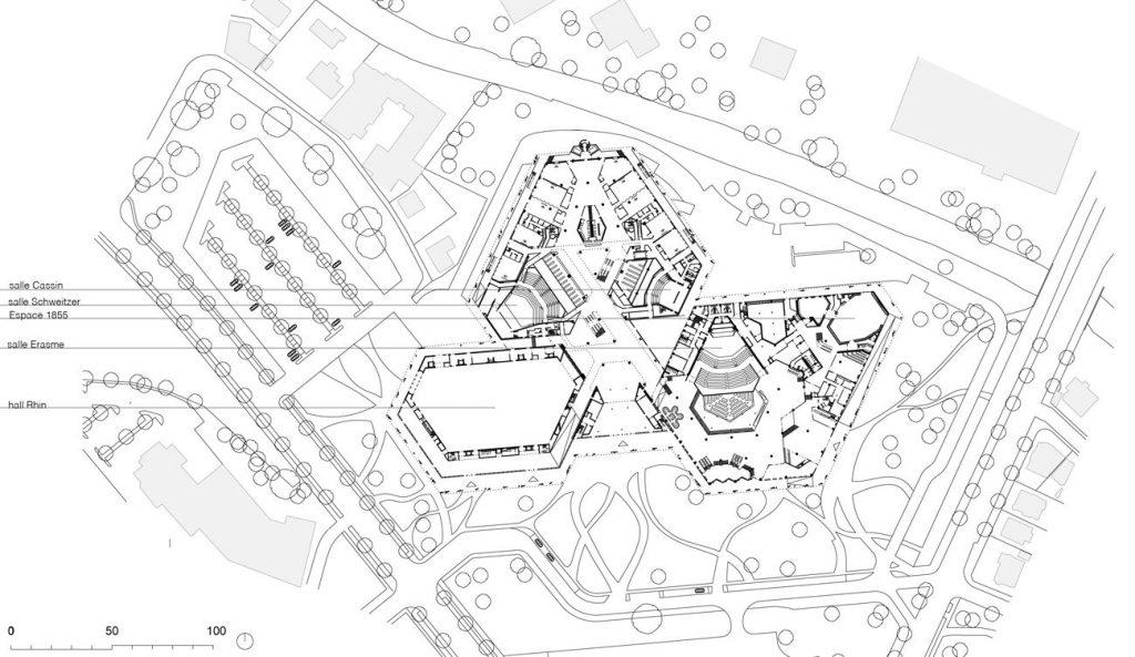 PMC Strassburg E0 1024x593 - Rénovation et extension du Palais de la Musique et des Congrès de Strasbourg