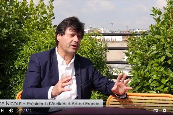 serge nicole 585x390 - Salon Révélations 2017 : rencontre avec Serge Nicole
