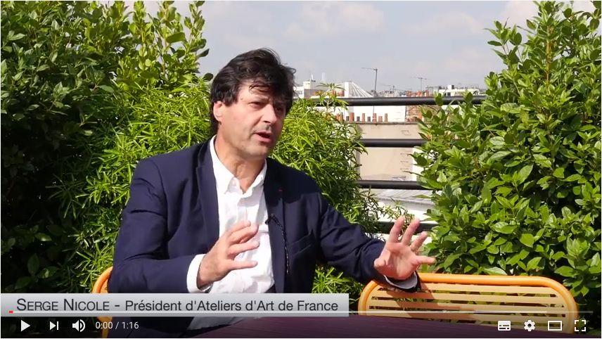 serge nicole - Salon Révélations 2017 : rencontre avec Serge Nicole