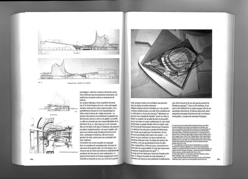 xenakis cite musique 1024x740 - Iannis Xenakis, de la spatialisation de la musique à la musicalisation de l'espace