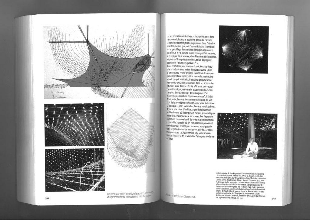 xenakis diotope 1024x728 - Iannis Xenakis, de la spatialisation de la musique à la musicalisation de l'espace