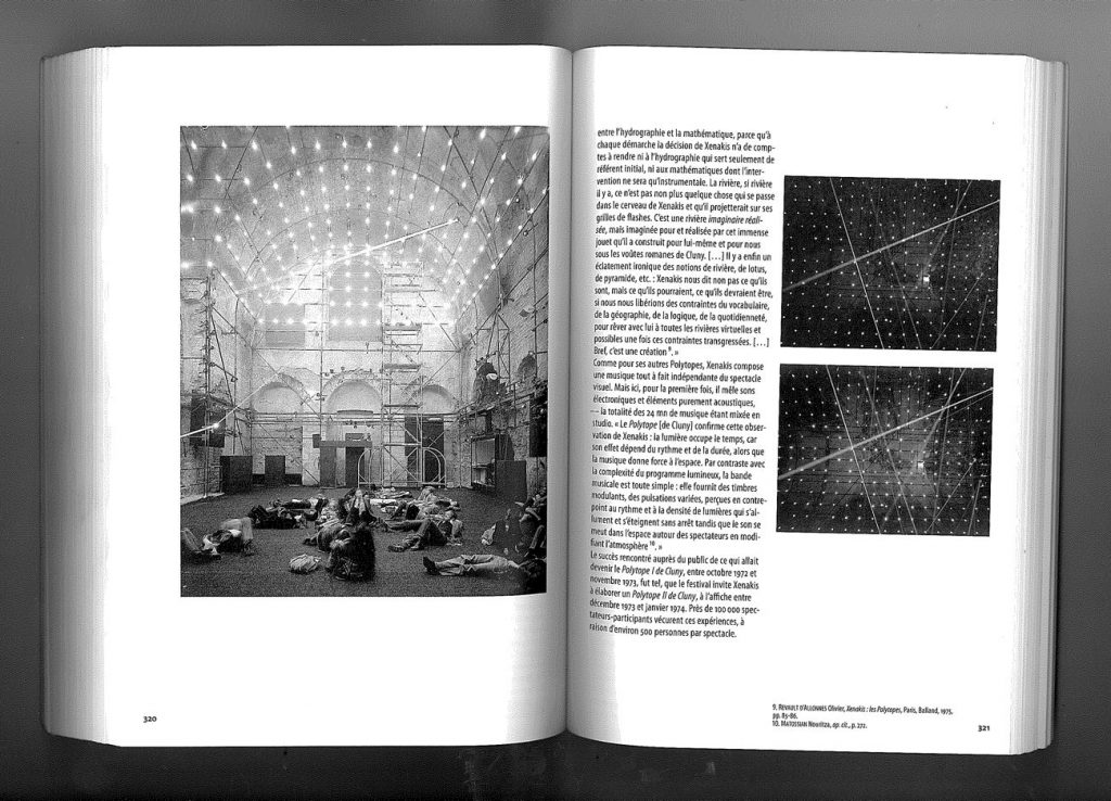 xenakis polytope 1024x738 - Iannis Xenakis, de la spatialisation de la musique à la musicalisation de l'espace