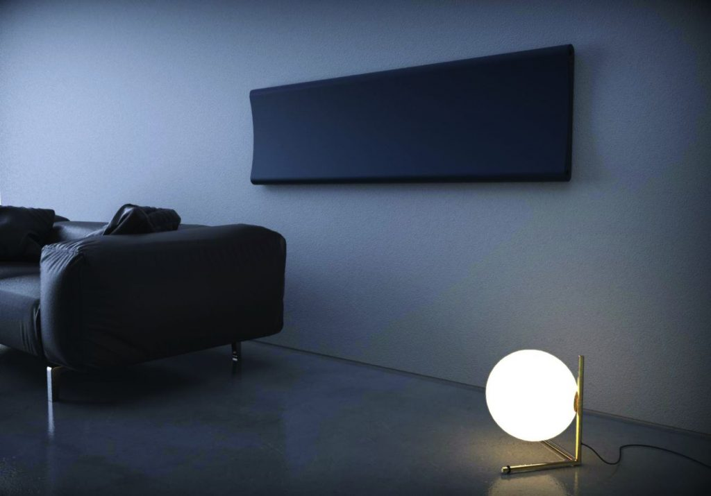 BENTsalaHorizontal 1024x715 - CALEIDO Modèle Bent :un radiateur au design sensuel