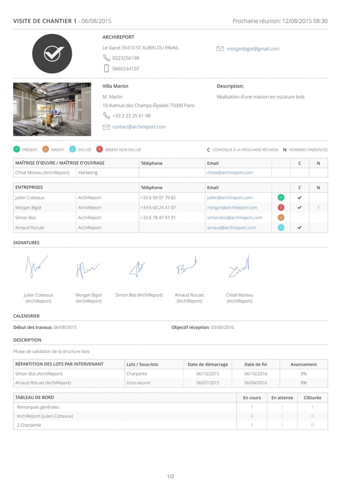 Compte rendu chantier 1170x1654 - ArchiReport, l'application de suivi de chantier