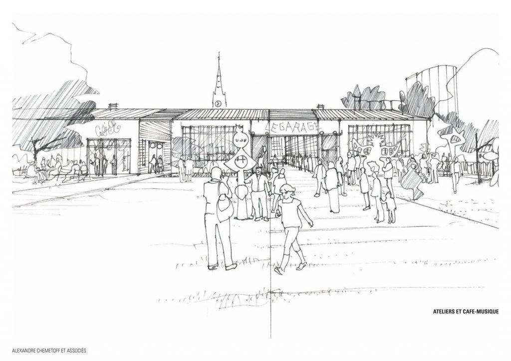 Coop Garages Etat Projete 1024x724 - Réhabilitation de la COOP, un antidote au projet urbain ?