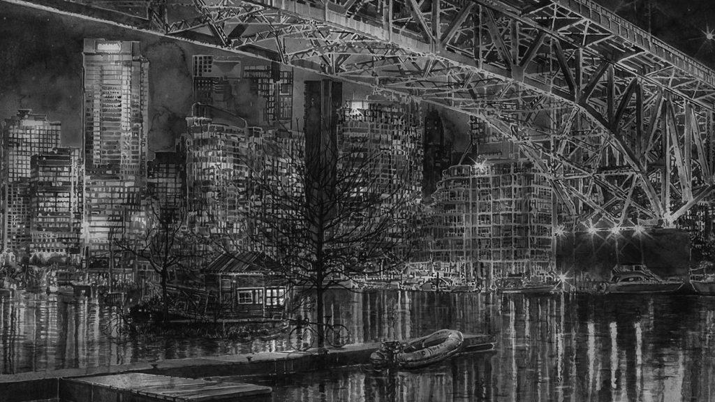 Hans Op de Beeck Night Time 1024x576 - Hans Op de Beeck : Paysages intranquilles