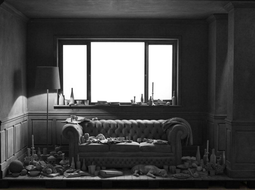 Hans Op de Beeck The Lounge 1024x764 - Hans Op de Beeck : Paysages intranquilles