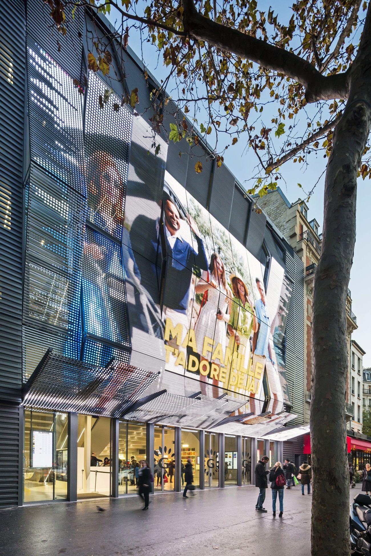 alesia luc boegly - Reconstruction du cinéma Alésia par Manuelle Gautrand