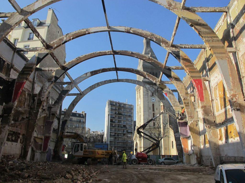 alesia structure existante 1024x768 - Reconstruction du cinéma Alésia par Manuelle Gautrand