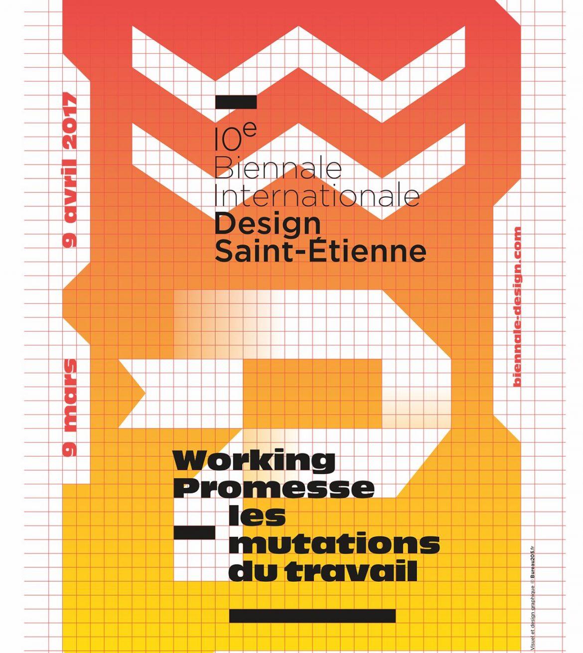 Affiche Biennale Design Saint Etienne 2017 1170x1310 - 10e édition de la biennale de design de Saint-Etienne
