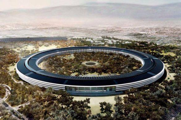 apple campus norman foster USA 585x390 - 2016 2017 Bilan et perspectives architecturales : la revue de presse du 3 janvier 2017