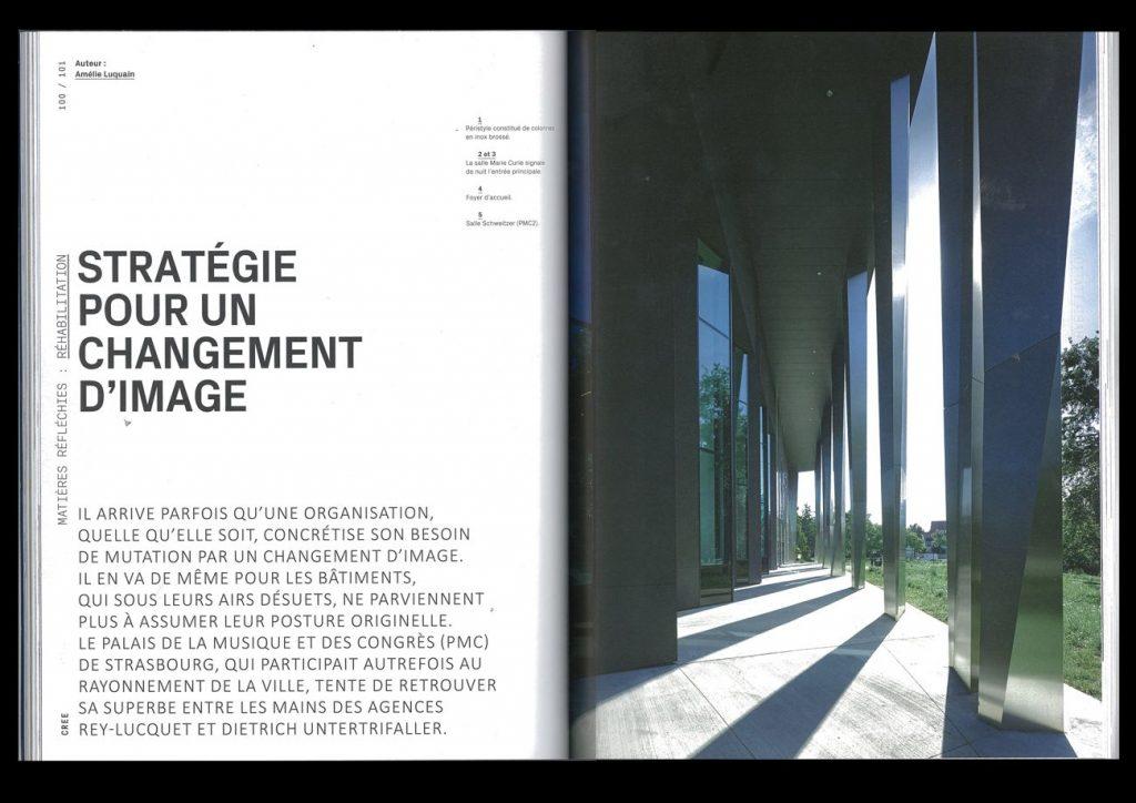 palais musique congres dietrich untertrifaller strasbourg 1024x724 - 28 français nommés au Prix Mies van der Rohe 2017