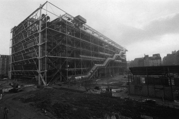 pompidou 40 ans 585x390 - Le Centre Pompidou fête ses 40 ans
