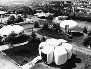utopie plastique 300x226 - L'utopie de l'habitat plastique des années 1960/70