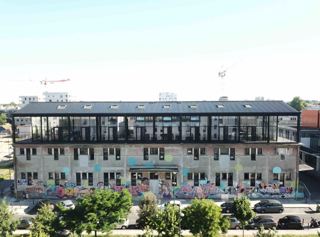 BT6. Réhabilitation d'un entrepôt et surélévation du bureaux (Bègles) - Nadau Architecture / Faye Architectes et Associés