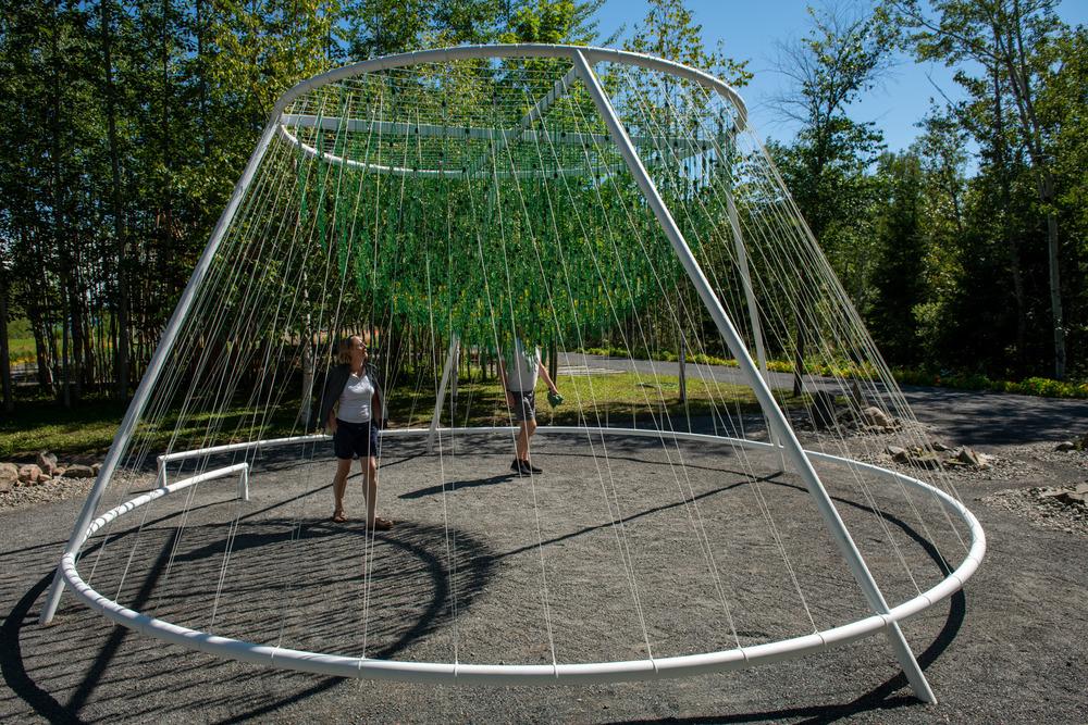 """""""ENTWINE"""" de Waiyee Chou, architecte paysagiste et Carlos Portillo, architecte paysagiste - Toronto et Montréal (Canada)"""