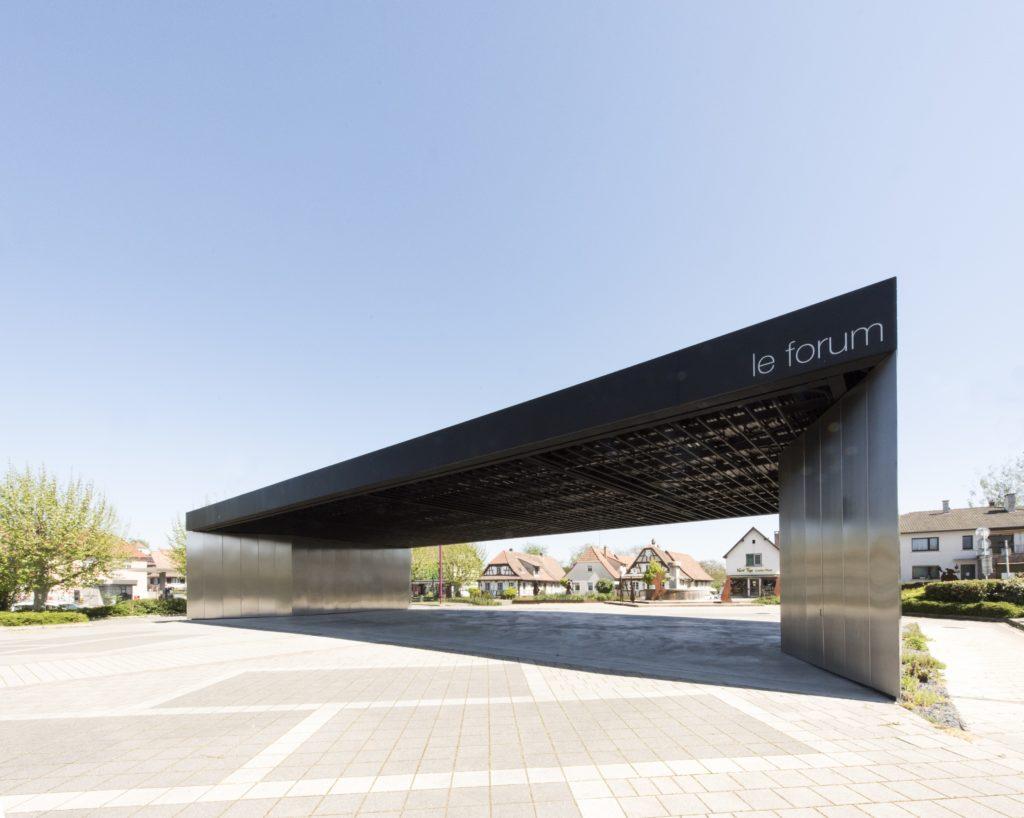 Halle Multifonctionnelle Le Forûm (Soultz-sous-Forêts) - RHB Architectes