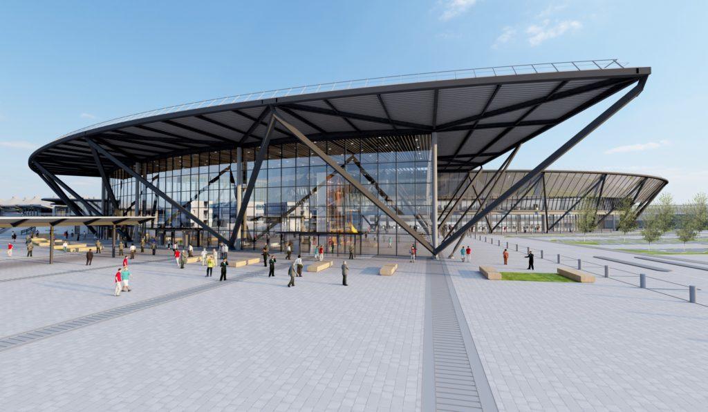 Nouveau Terminal T1 (Aéroport de Lyon-Saint Exupéry) - Rogers Stirk Harbour + Partners / Chabanne