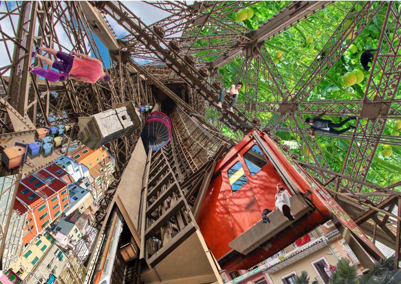 """Le concours """"La Cité Durable des Ascenseurs"""" a récompensé 5 projets et délivré 5 mentions"""