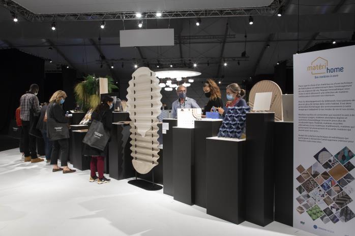 """L'exposition """"Matéri'Home, des matières à vivre"""", proposée par Innovathèque"""