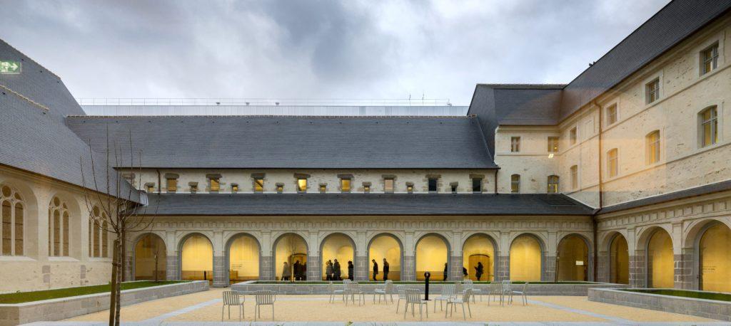 Le Couvent des Jacobins - Centre des Congrès de Rennes Métropole devait accueillir le 51e Congrès des Architectes © JF Molliere