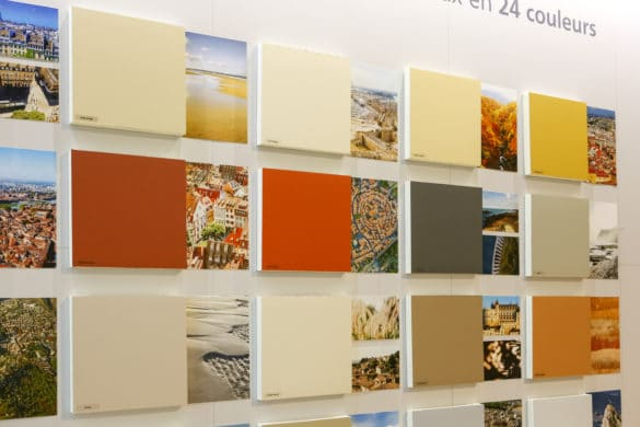 """À l'occasion du Salon Architect@Work qui s'est tenu du 24 au 25 septembre 2020, Myral dévoilait 24 nouveaux coloris de sa collection les """"Intemporels"""" inspirés du territoire français."""