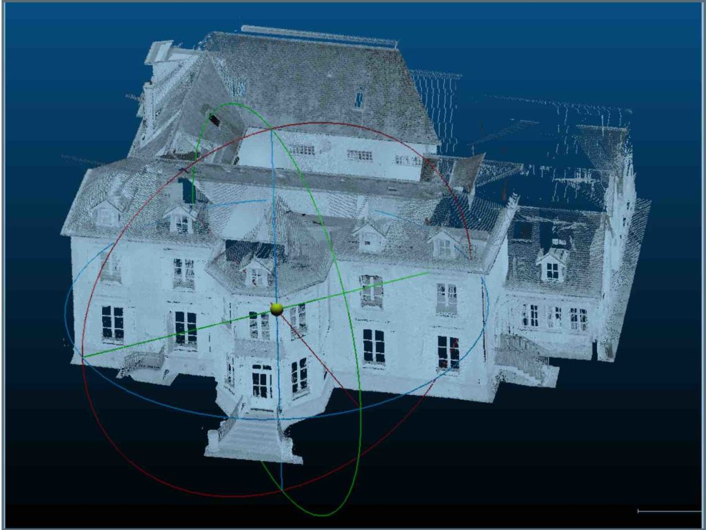 Sunmetron et Noovae ont construit un double numérique de la Villa Bon Abri de Cabourg